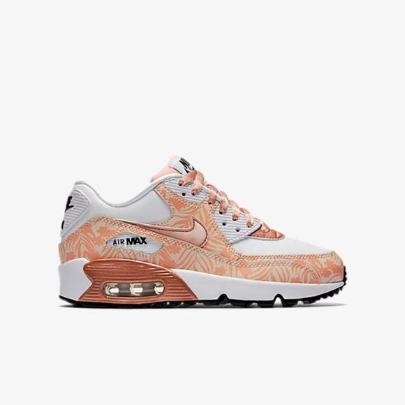 premium selection c49f6 b9f8a Nike air max 90 print LTR (GS) 6.5Y- women s 8